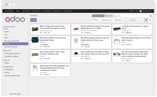Manage your catalog with Odoo thanks to ShopInvader.