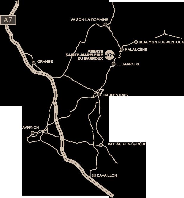 Via Caritatis - 1201 Chemin des Rabassières - 84330 - Le Barroux